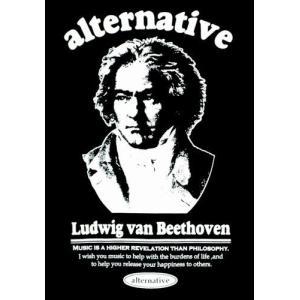 ベートーベン/Tシャツ/ブラック/メンズ/レディース/プレゼント/ギフト包装/ラッピング無料|alternativeclothing|03