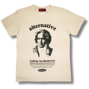 ベートーベン/Tシャツ/生成/クラシック/作曲家/エリーゼのために/田園/メンズ/レディース|alternativeclothing