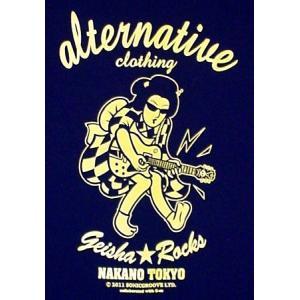 芸者ロックス/階G子&オルタナティヴ・コラボTシャツ/メンズ/レディース|alternativeclothing|02