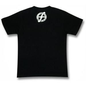 スカル姉さん/ドクロ/ハードコアクラブバンド/メンズ/レディース/Tシャツ(黒)|alternativeclothing|02