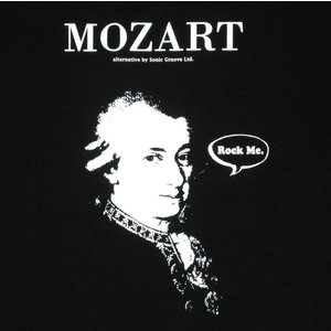 モーツァルト/Mozart/偉人/Rock Me/オルタナティヴ/Tシャツ/黒/メンズ/レディース/プラハ/フィガロの結婚/ジュピター/ウィーン|alternativeclothing|02