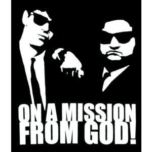 ブルース・ブラザーズ/BLUES BROTHERS/ON A MISSION FROM GOD/ロックTシャツ/バンドTシャツ/メンズ/レディース/黒|alternativeclothing|02
