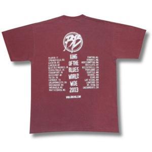 BB.キング/World Wide Tour/2003/ブルース/Tシャツ/メンズ alternativeclothing 02