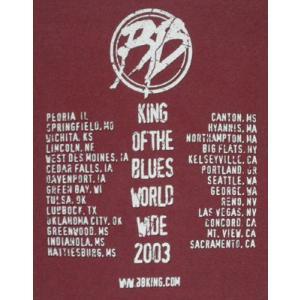 BB.キング/World Wide Tour/2003/ブルース/Tシャツ/メンズ alternativeclothing 04