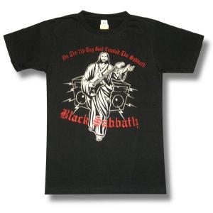 BLACK SABBATH/ブラックサバス/On The 7th Day God Created The Sabbath/ロックTシャツ/バンドTシャツ|alternativeclothing