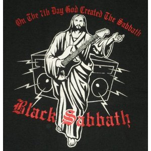 BLACK SABBATH/ブラックサバス/On The 7th Day God Created The Sabbath/ロックTシャツ/バンドTシャツ|alternativeclothing|02