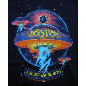 BOSTON/ボストン/幻想飛行/Tシャツ/紺/ロックTシャツ/バンドTシャツ|alternativeclothing|02