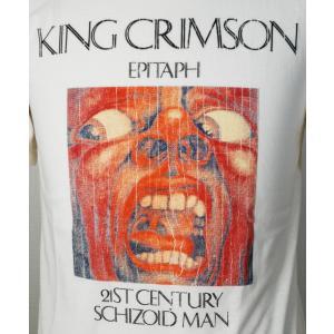 KING CRIMSON/キング・クリムゾン/EPITAPH/21ST CENTURY SCHIZOID MAN/バンドTシャツ/メンズ/ホワイト alternativeclothing 02