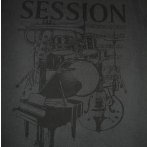 SESSION/セッション/ダークグレー/半袖/ウォッシュ加工/ロックTシャツ/バンドTシャツ/Capital Radio One/キャピタル・レディオ・ワン alternativeclothing 02