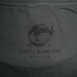 SESSION/セッション/ダークグレー/半袖/ウォッシュ加工/ロックTシャツ/バンドTシャツ/Capital Radio One/キャピタル・レディオ・ワン alternativeclothing 03
