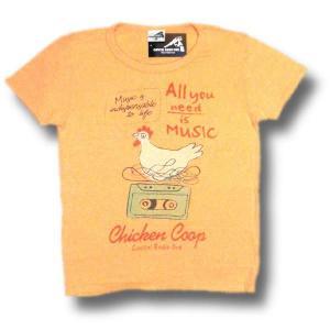 チキン/へザーイエロー/半袖/ウォッシュ加工/ロックTシャツ/バンドTシャツ/Capital Radio One/キャピタル・レディオ・ワン|alternativeclothing