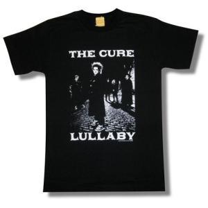 THE CURE/ザ・キュアー/LULLABY/ララバイ/Tシャツ/黒/ロックTシャツ/バンドT シャツ alternativeclothing