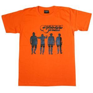 時計じかけのオレンジ/CLOCKWORK ORANGE/オレンジ/映画Tシャツ/メンズ/|alternativeclothing