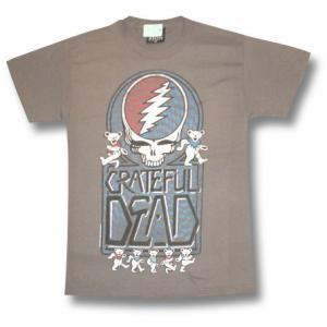 デッド・ベアーTシャツ/グレートフル・デッド/GRATEFUL DEAD/メンズ/ロックTシャツ/バンドTシャツ|alternativeclothing