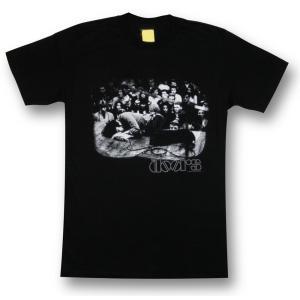 ザ・ドアーズ/THE DOORS/Tシャツ/黒/LIVE/ジム・モリソン/メンズ/ロックT/バンドT/ブラック/半袖|alternativeclothing
