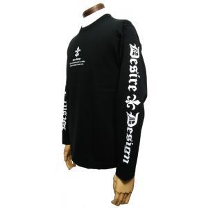 翼剣/ソードウィング/ロンT/ロック/バイク/長袖/Tシャツ/黒/Desire Design|alternativeclothing|03