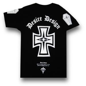 アイアン・クロス/IRON CROSS/十字架/Tシャツ/ゴシック/ロック/パンク/バイカー/黒/メンズ/レディース/ブラック/半袖|alternativeclothing