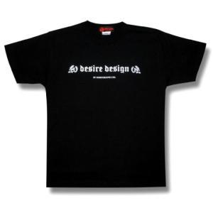 スカル/ドクロ/ガイコツ/ロゴ/Tシャツ/ロック/パンク/バイカー/黒/DESIRE DESIGN/メンズ/レディース|alternativeclothing