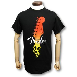 FENDER/フェンダー/ギター/Tシャツ/ストラト/へッド/黒/ロックTシャツ/バンドTシャツ/メンズ|alternativeclothing