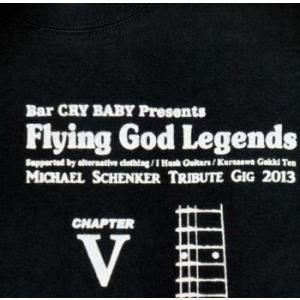 マイケル・シェンカー祭り/FLYING GOD伝説Vol.05/Michael Schenker/Tシャツ/ロックTシャツ/黒/メンズ|alternativeclothing|02