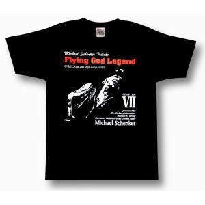 FLYING GOD伝説〜第7章/マイケル・シェンカー祭/MICHAEL SCHENKER/DEAN/Tシャツ/ロックTシャツ/黒/メンズ|alternativeclothing