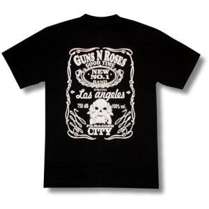 GUNS N' ROSES/パラダイスシティー/黒/ジャック・ダニエル/ロックTシャツ/バンドTシャツ/メンズ/レディース alternativeclothing 02