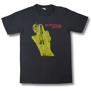 Raw Power/イギー・ポップ/IGGY POP/チャコール/ロックTシャツ/バンドTシャツ/メンズ/レディース/半袖|alternativeclothing
