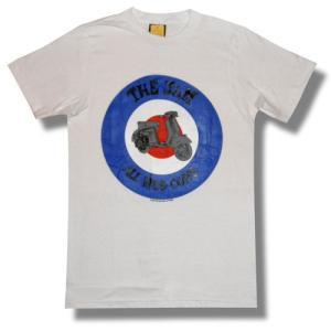 THE JAM/ザ・ジャム/ターゲット/ALL MOD CONS/Tシャツ/白/ポール・ウェラー/ロックTシャツ/バンドT シャツ alternativeclothing