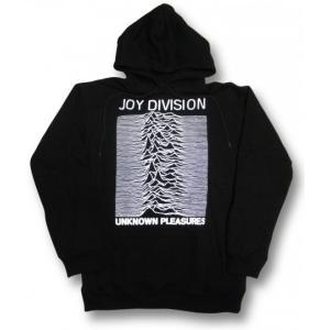 ジョイ・ディヴィジョン/パーカー/JOY DIVISION/UNKNOWN PLEASURES/アンノウン・プレジャーズ/ブラック|alternativeclothing
