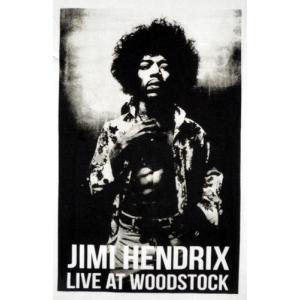 ジミ・ヘンドリックスTシャツ/LIVE AT WOODSTOCK/白/メンズ/レディース/ロックTシャツ/バンドTシャツ alternativeclothing 02