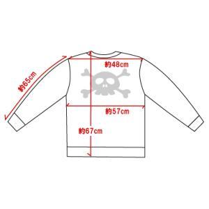 ドクロ/セーター/キュートなスカル/黒/メンズ/レディース/フリーサイズ/国産 alternativeclothing 05