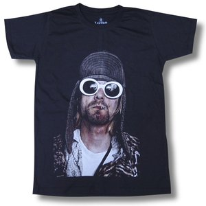 カート・コバーン NIRVANA メンズ ロックTシャツ バンドTシャツ|alternativeclothing