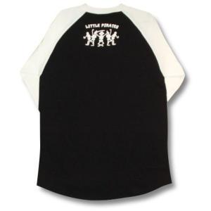 海賊パンダ/ラグラン/七分袖/Tシャツ/メンズ|alternativeclothing|02