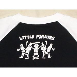 海賊パンダ/ラグラン/七分袖/Tシャツ/メンズ|alternativeclothing|03