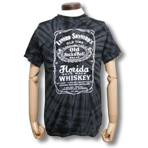 レイナード・スキナード/タイダイTシャツ/メンズ/ジャックダニエル/ロックTシャツ/バンドTシャツ|alternativeclothing