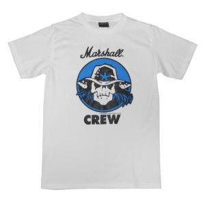 Marshall/マーシャル/ギターアンプ/スカル/ドクロ/メンズ/レディース/白/Tシャツ|alternativeclothing