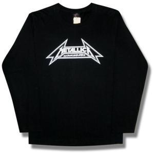 METALLICA/メタリカ/ヘヴィメタル/ロゴTシャツ/ロンT/長袖Tシャツ/ロンT/ロックTシャツ/バンドTシャツ|alternativeclothing