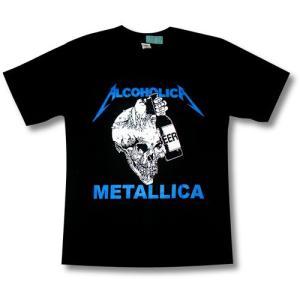 メタリカ/ALCOHOLICA/アルコホリカ/ロックTシャツ/バンドTシャツ/METALLICA/|alternativeclothing