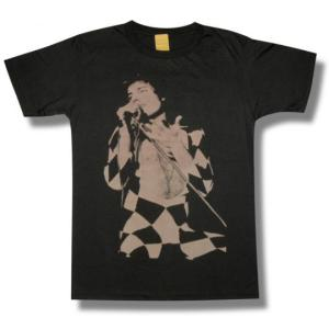 QUEEN/クイーン/FREDDIE MERCURY/フレディ・マーキュリー/チャコール/ロックTシャツ/バンドTシャツ/メンズ/レディース|alternativeclothing