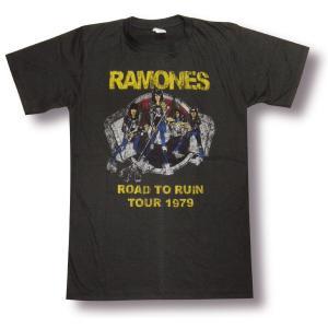 Tシャツ ラモーンズ RAMONES ロードトゥルーイン メンズ レディース ロック バンド|alternativeclothing