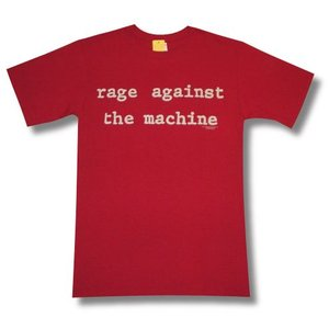 RAGE AGAINST THE MACHINE/ロックTシャツ/バンドTシャツ/赤|alternativeclothing