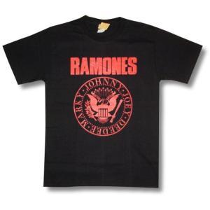 ラモーンズ/RAMONES/赤ロゴ/メンズ/レディース/ロックTシャツ/バンドTシャツ|alternativeclothing