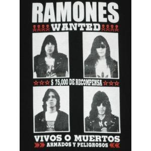 RAMONES/ラモーンズ/WANTEDD/指名手配/ロックTシャツ/バンドTシャツ|alternativeclothing|02