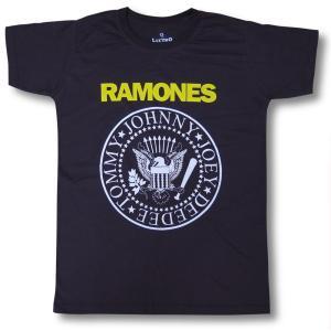 Tシャツ RAMONES ラモーンズ 黄ロゴ メンズ ロック バンド|alternativeclothing