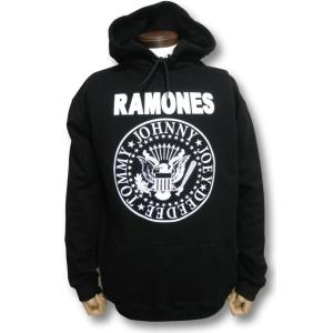 パーカー ラモーンズ RAMONES メンズ ブラック|alternativeclothing