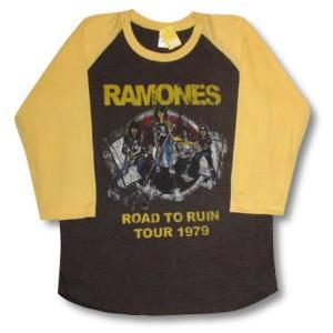 ラモーンズ/ラグラン七分袖Tシャツ/メンズ/レディース/ロックTシャツ/バンドTシャツ|alternativeclothing
