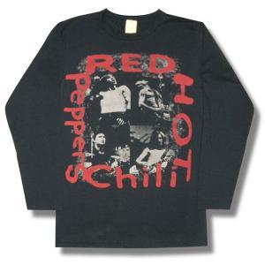 レッド・ホット・チリペッパーズ/RED HOT CHILI PEPPERS/メンバー/チャコール/長袖Tシャツ/ロンT/ロックTシャツ/バンドTシャツ/メンズ/レディース|alternativeclothing