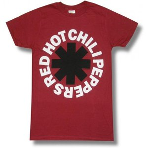 RED HOT CHILI PEPPERS/レッド・ホット・チリペッパーズ/アスタリスク/赤/ロックTシャツ/メンズ/レディース|alternativeclothing