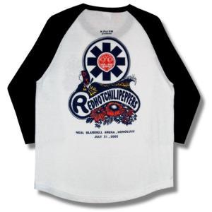 レッチリ/ラグランTシャツ/'02ホノルル・ツアー/七分袖/ロックTシャツ/バンドTシャツ|alternativeclothing