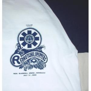 レッチリ/ラグランTシャツ/'02ホノルル・ツアー/七分袖/ロックTシャツ/バンドTシャツ|alternativeclothing|03